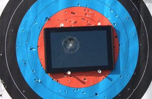 ASUS Eee Pad Transformer resists Canadian coins, does not survive slings and arrows (video)