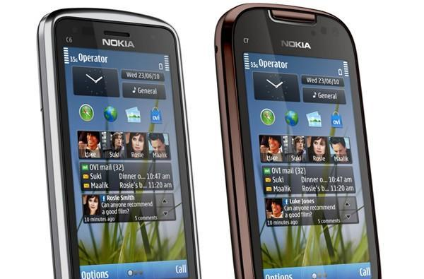 Nokia announces new C6 and C7 Symbian^3 handsets with 8 megapixel cameras, 720p video