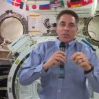 """""""The future is here"""": ISS commander on historic SpaceX launch"""