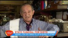 State funeral for Sisto Malaspina