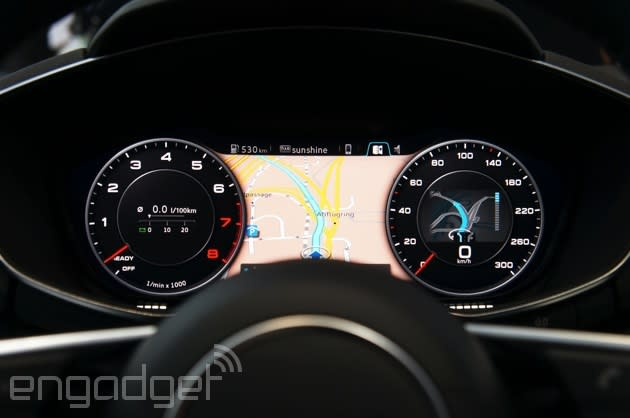 Hands-on with Audi's all-digital dash for the 2015 TT and likely home for its Smart Display tablet