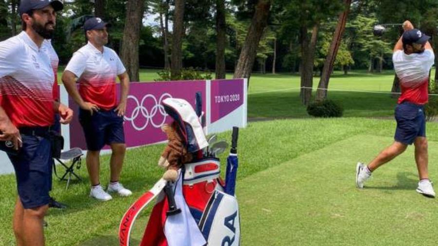 JO - Golf (H) - Romain Langasque: «On sent qu'on fait partie d'une famille» au JOde Tokyo