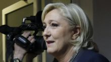 Le Pen says, if elected, will mull swift lifting of Russia sanctions