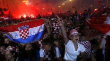 Más de 250.000 personas reciben a selección de Croacia