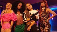 Luísa revela nome inusitado de grupo com Anitta, Lexa e MC Rebecca
