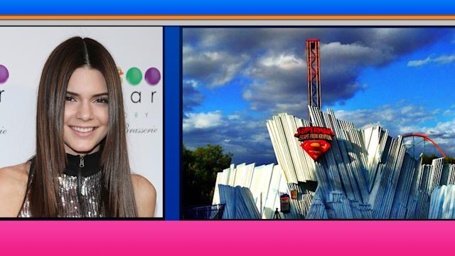 What a Ride! The Kardashians Take Over Magic Mountain for Kendall's 18th Birthday