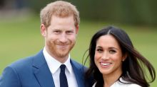 Here's Your First Look at Harry and Meghan's Cake