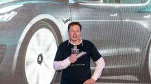 Elon Musk mocks regulators, short-sellers as Tesla soars