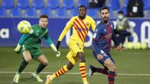 Barca earn narrow win over Huesca