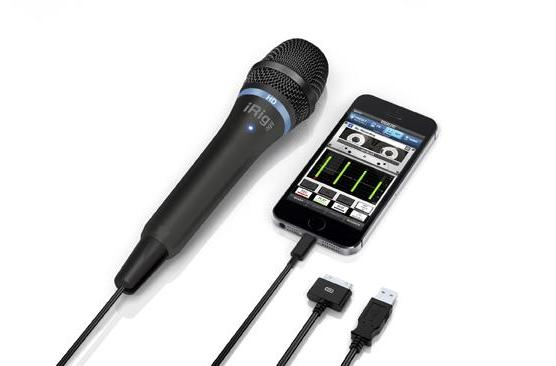 iRig Mic HD brings a hand-held option to iOS and Mac recording for $99