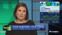Buy Illumina? What about Schwab? The desk takes your questions