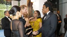 What Meghan and Beyoncé really spoke about at yesterday's Lion King premiere
