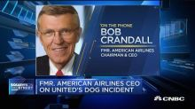 Former American Airlines CEO on United's dog incident