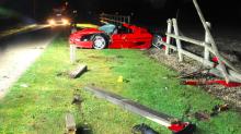 Shocking pictures show mangled wreckage of Ferrari after schoolboy, 13, killed in horror crash