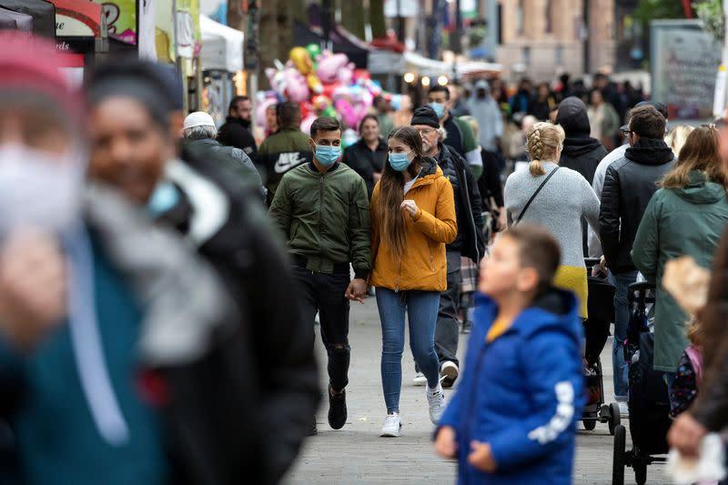 Britain reports sharp increase in daily new coronavirus cases