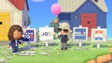 """Présidentielle américaine : Joe Biden fait campagne dans le jeu vidéo """"Animal Crossing"""""""