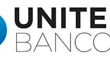 United Bancorp, Inc. Declares its Third Quarter Regular Cash Dividend Payment at $0.1425 per Share, which produces a Forward Yield of 4.95%