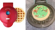Sales of this affordable mini waffle maker are up 1,800% on Amazon after appearing in a genius TikTok hack
