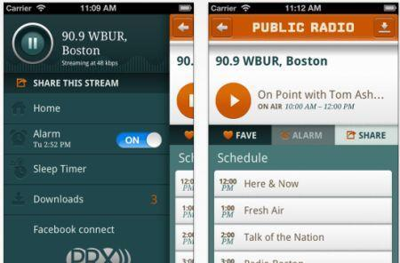 Public Radio Player app redesigned in latest update