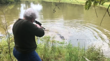 Texas great-grandmother shoots and kills alligator because she claims it ate her miniature horse