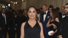 El vestido de Salma Hayek guardaba una sorpresa