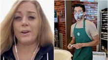 The California woman who refused to wear a face mask in Starbucks is considering suing to get half of the barista's $100,000 in GoFundMe tips