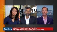HP Enterprise Misses Estimates as CEO Whitman Steps Down