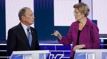 Democratic rivals pummel Bloomberg at start of Nevada debate