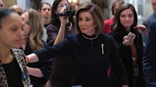 Nancy Pelosi leads Democrats in wearing dark colors to symbolize 'somber' mood of impeachment proceedings