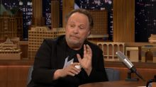 Billy Crystal used Trump's words to expel Trump-supporting heckler from show