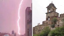 Lightning strike kills 18 people, some taking selfies, at tourist spot