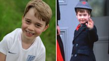Royal fans point out how similar Prince George is to dad William in new birthday photos