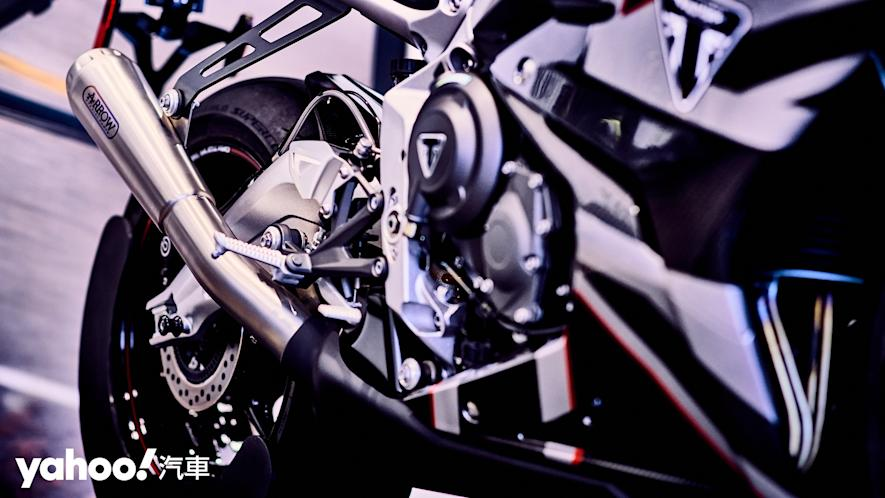 唯一官方認可道路化廠車!Triumph Daytona Moto2 765 Limited Edition實車鑑賞! - 12