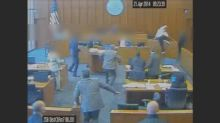 Utah courthouse shooting video released