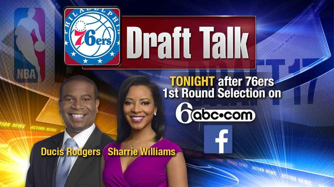 LIVE NOW: 6abc Draft Talk with Ducis Rodgers & Sharrie Williams
