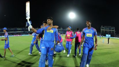 IPL 2018: RR Ride on Gowtham's 11-Ball 33 to Beat MI by 3 Wickets