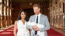 La del bebé de Harry y Meghan y otras presentaciones de los hijos de los 'royals'