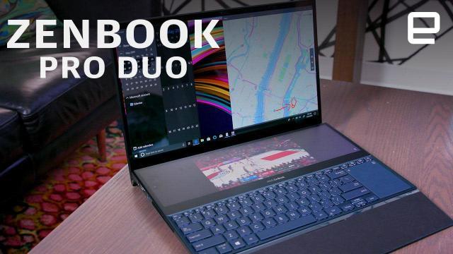 ASUS ZenBook Pro Duo hands-on: A bizarre yet useful dual-screen laptop