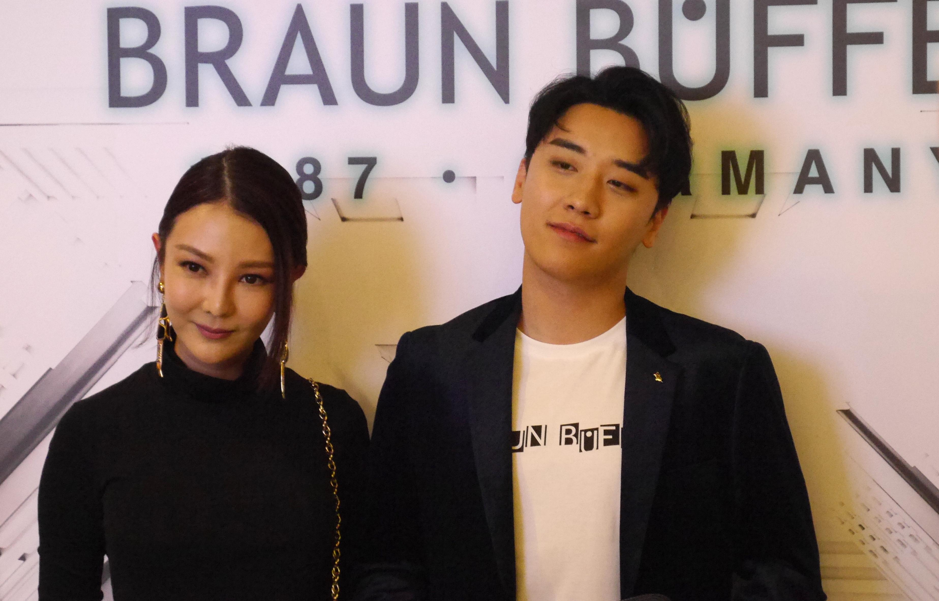 Bigbang's Seungri graces the Braun Büffel Spring/Summer 2019 launch event in Singapore