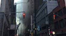 Fire in Building Near Times Square Shuts Down New York Streets