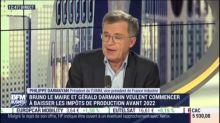 """Pacte productif: """"on est passé de la clé à la molette à la tablette"""" explique Philippe Darmayan (UIMM)"""