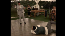 Teen with Down syndrome challenges groom to dance battle at wedding