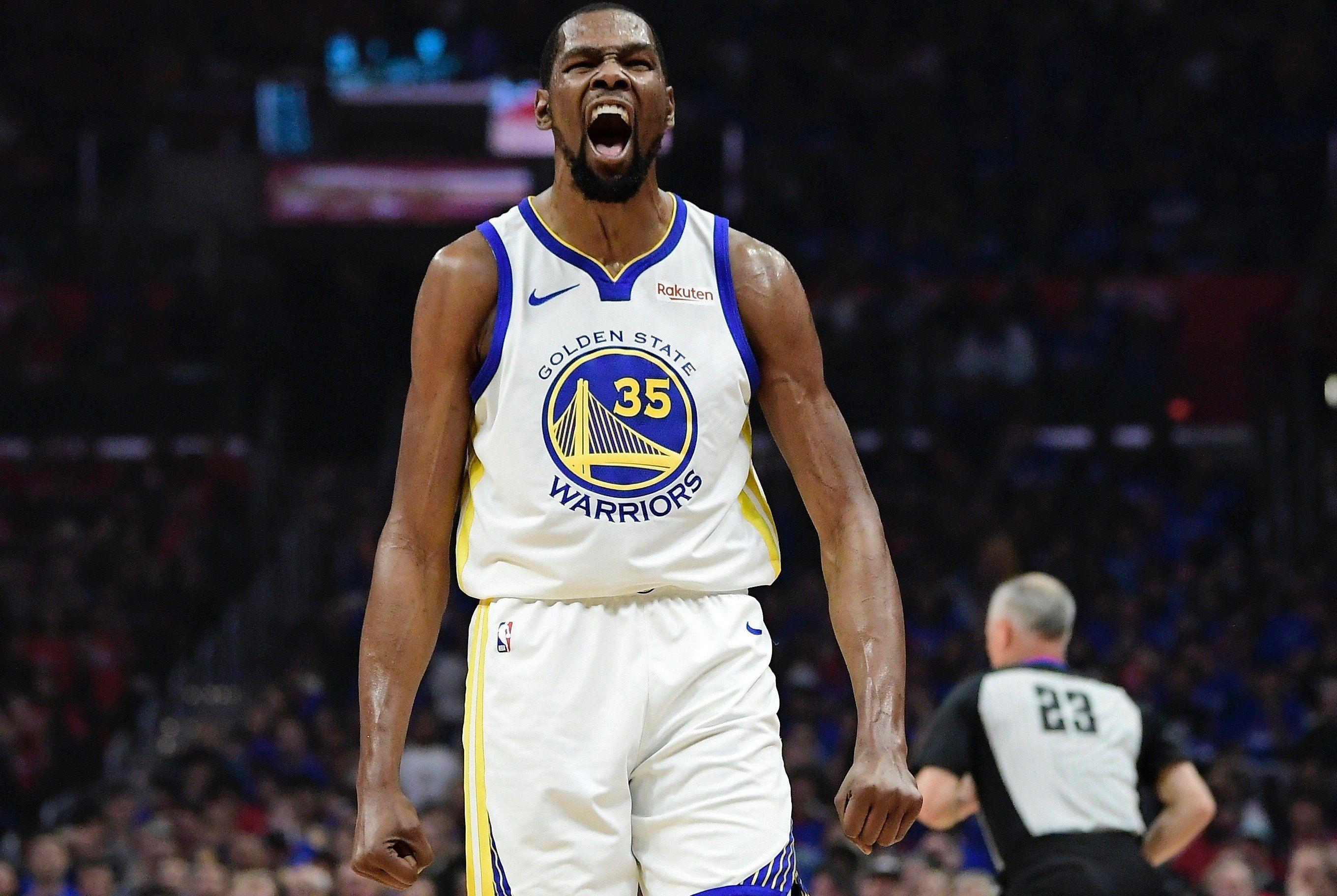 74ccbbe1e8c Kevin Durant shows Clippers who he is in Game 3 Warriors rout