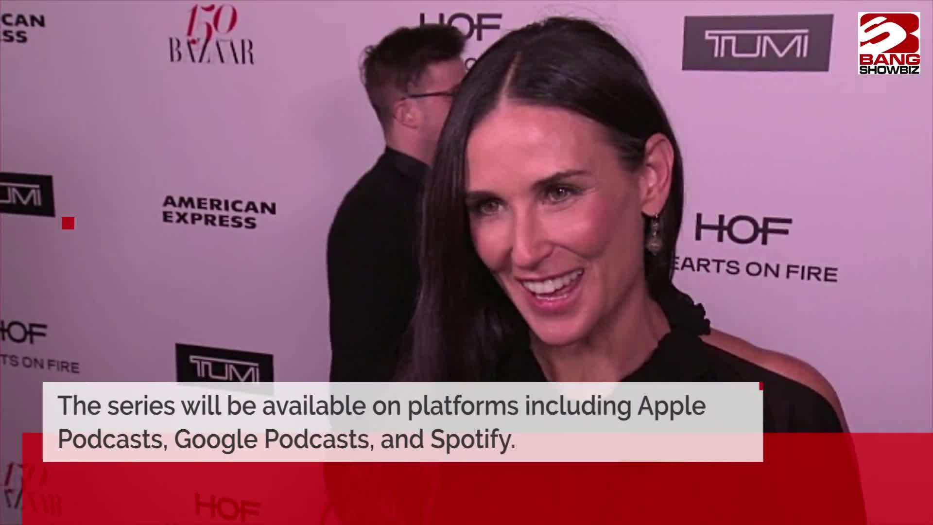 Demi Moore to star in raunchy podcast series [Video]