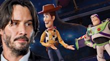 Woah: Keanu Reeves has a role in 'Toy Story 4'