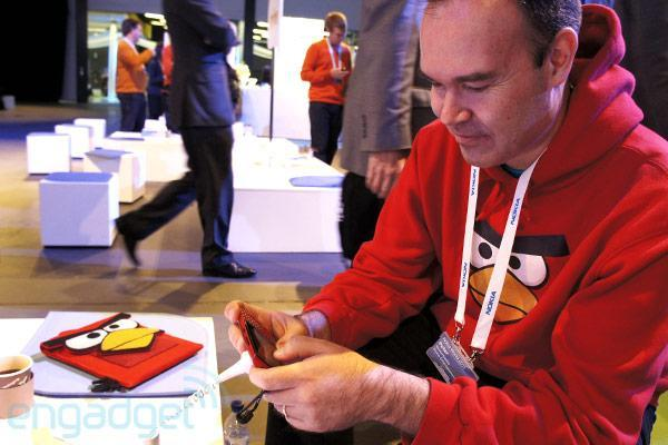 Nokia Asha brings Angry Birds to the developing world, Mighty Eagle soars (video)