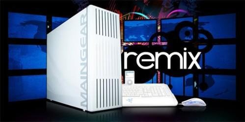 Maingear intros Remix workstation for the creative professional