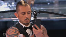 Terrifying selfie stunt leaves judges flabbergasted on 'AGT: The Champions'