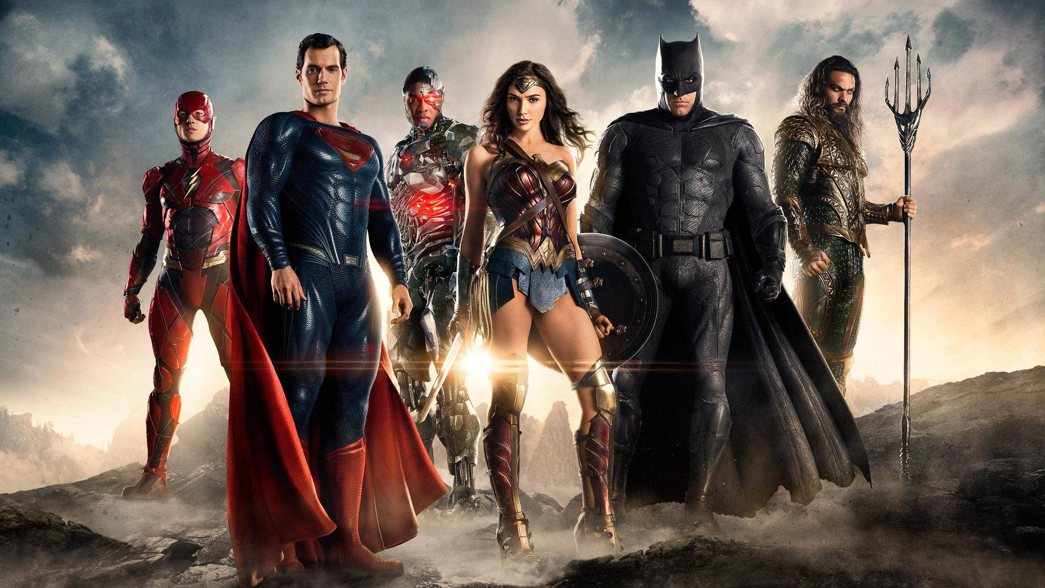 Ben Affleck and the 'Justice League' Assemble for the First Time ...