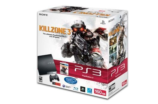 160GB PS3 with Killzone 3 bundle coming Feb. 22 for $300